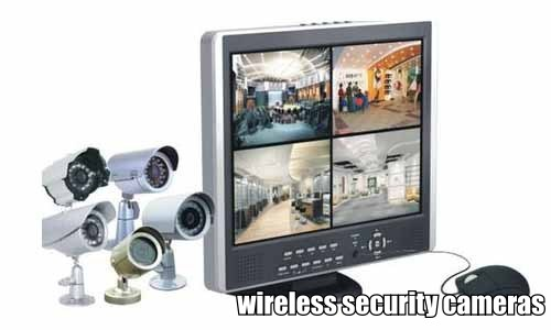 Wireless security cameras